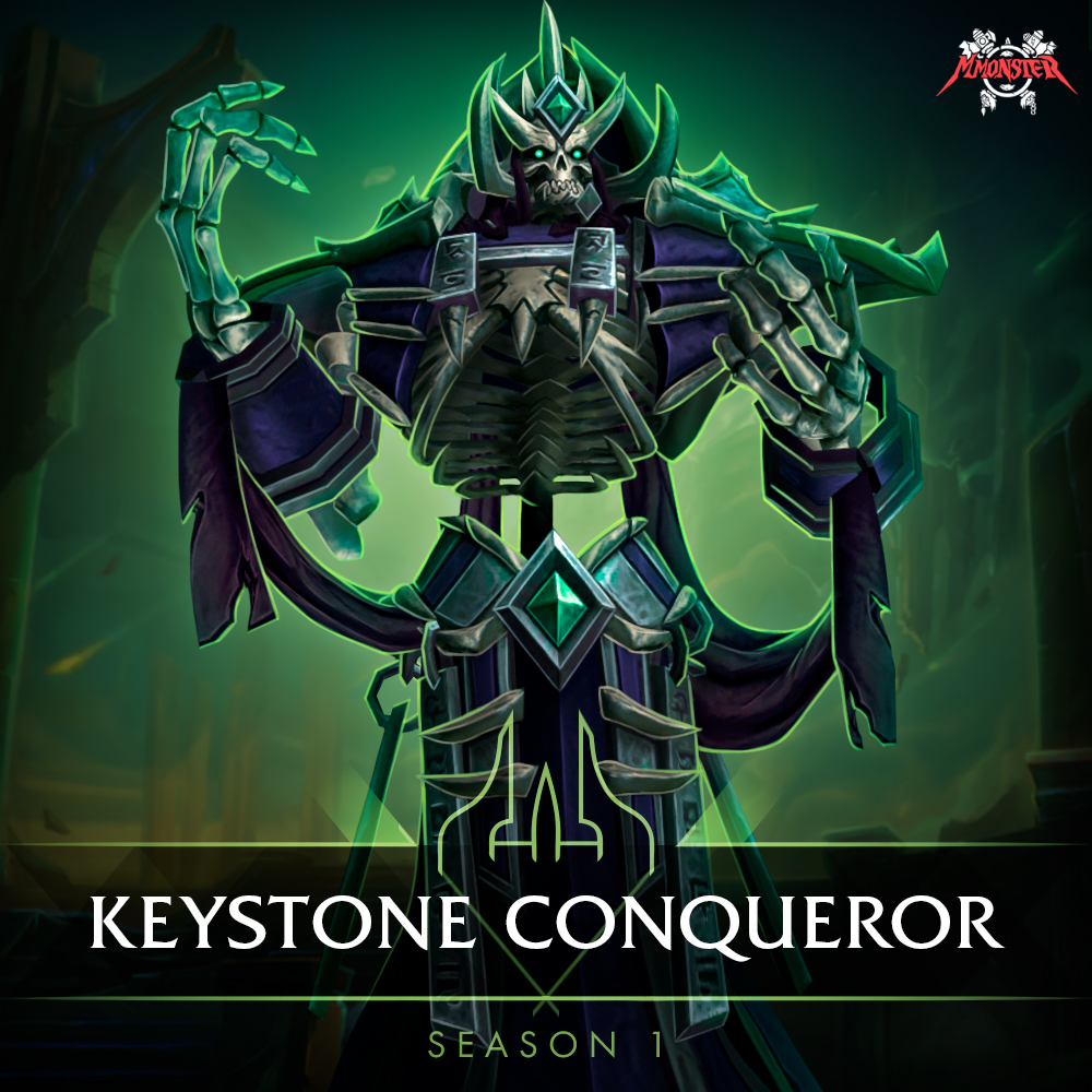 Shadowlands Keystone Conqueror: Season One Boost
