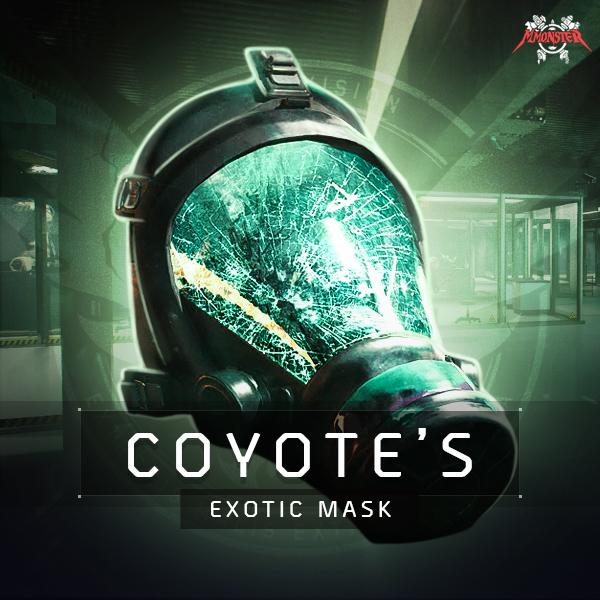 Coyote's Mask Exotic Farm Boost