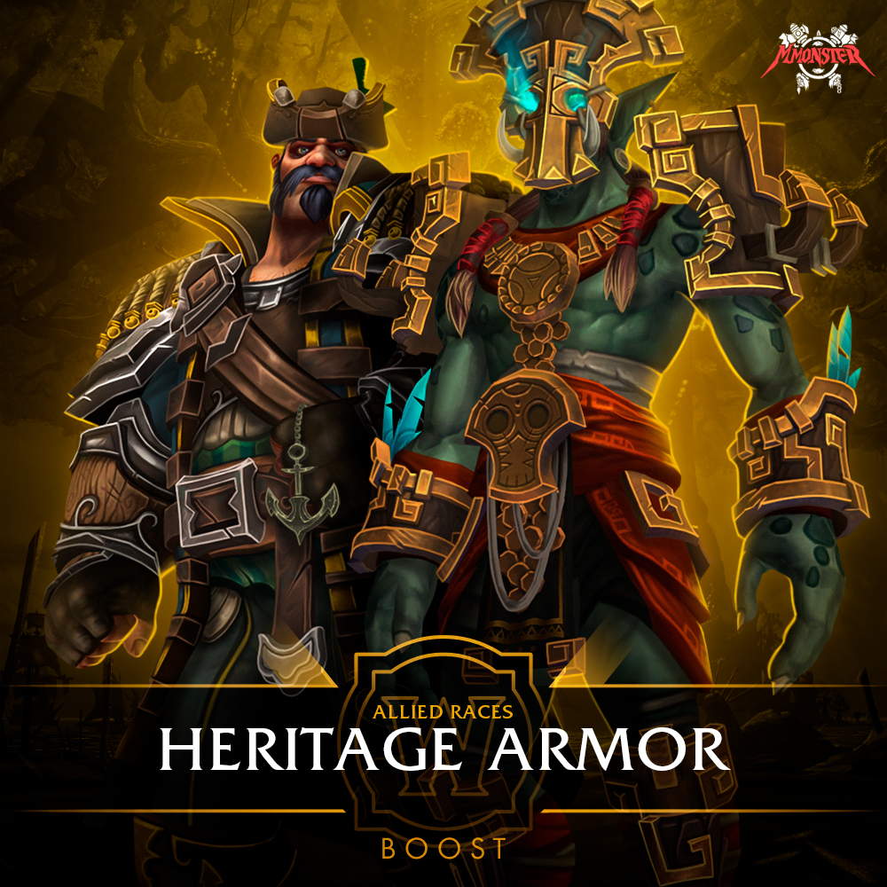 Allied Races Heritage Armor Set Unlock Boost