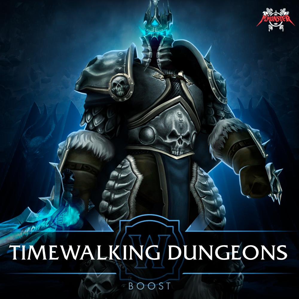 Timewalking Dungeons Boost Run