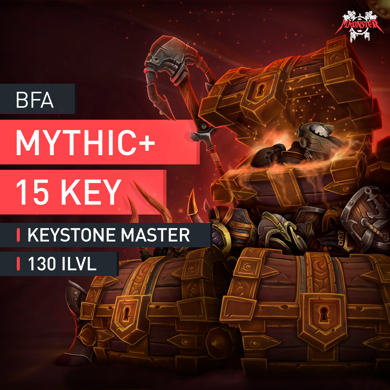 Mythic plus 15 key Boost - MmonsteR
