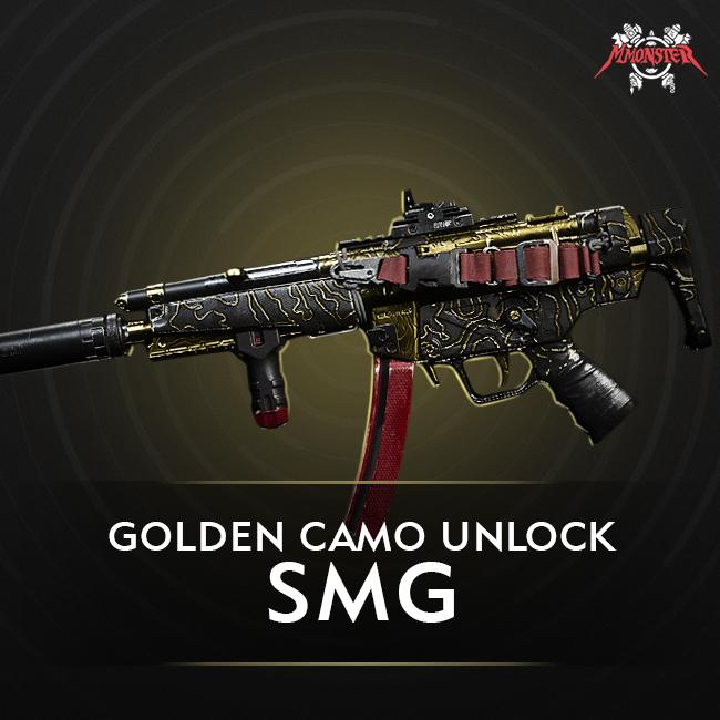 CoD MW SMG Gold Camo Unlock Boost
