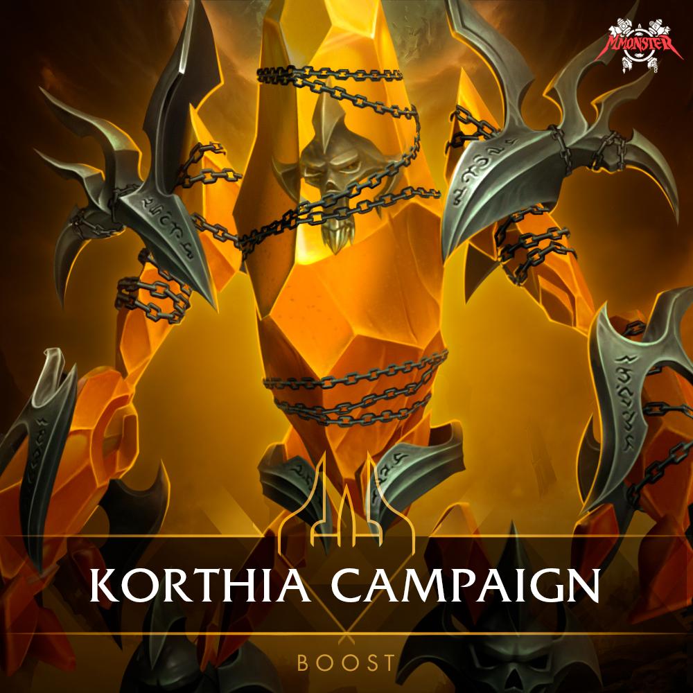 Korthia Storyline Campaign Boost