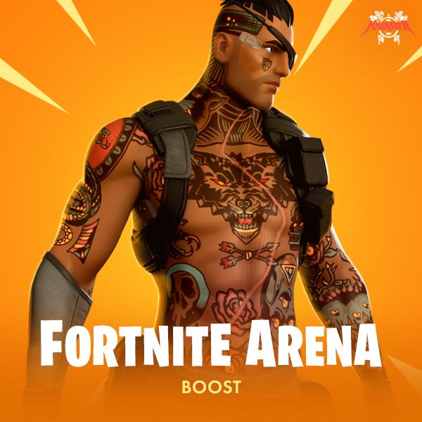 Fortnite Arena Boost