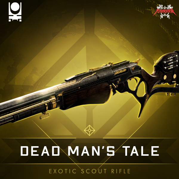 Dead Man's Tale Exotic Kinetic Scout Rifle