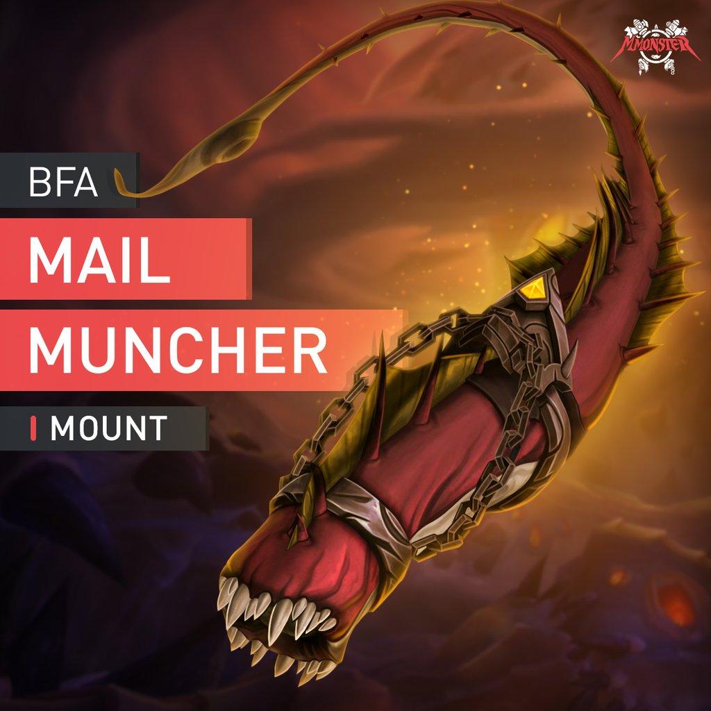 Mail Muncher Mount