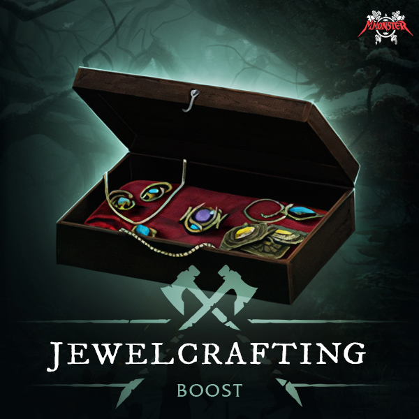 New World Jewelcrafting Power Leveling Crafting Skill Profession Boost