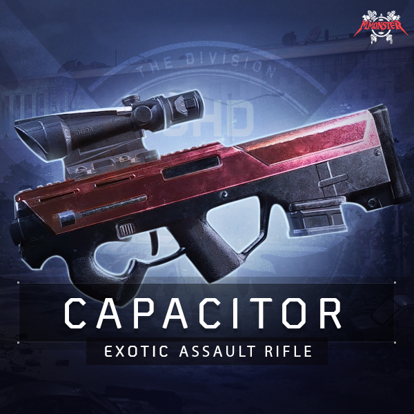 Capacitor Exotic Assault Rifle Farm Boost