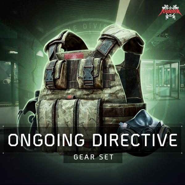 Ongoing Directive Gear Set Farm Boost