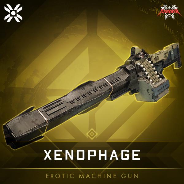 XENOPHAGE Exotic Machine Gun