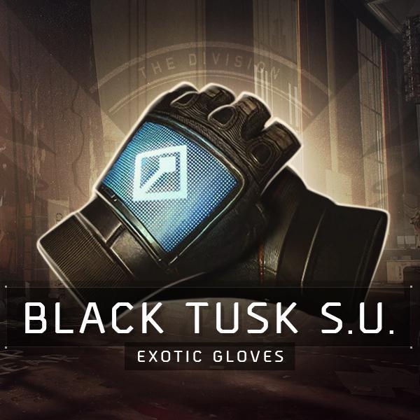 Black Tusk Special Unit (BTSU) Exotic Gloves Farm Boost
