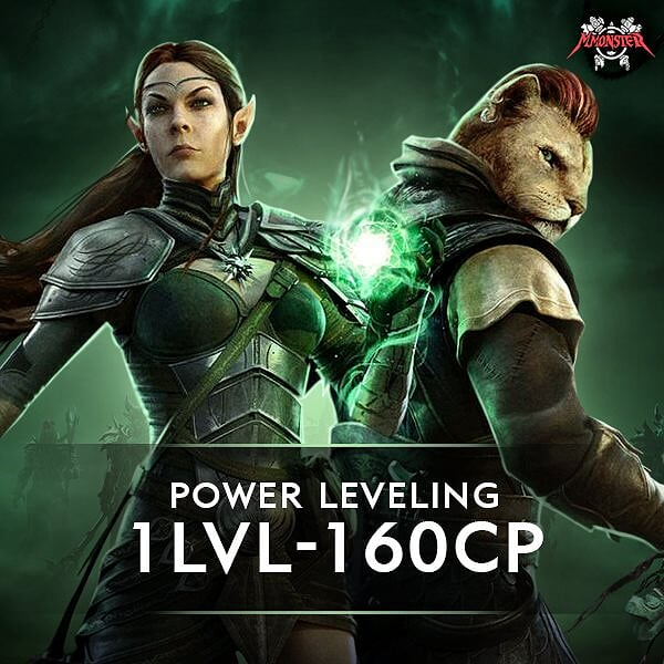 ESO Character Leveling 1 lvl - 160cp