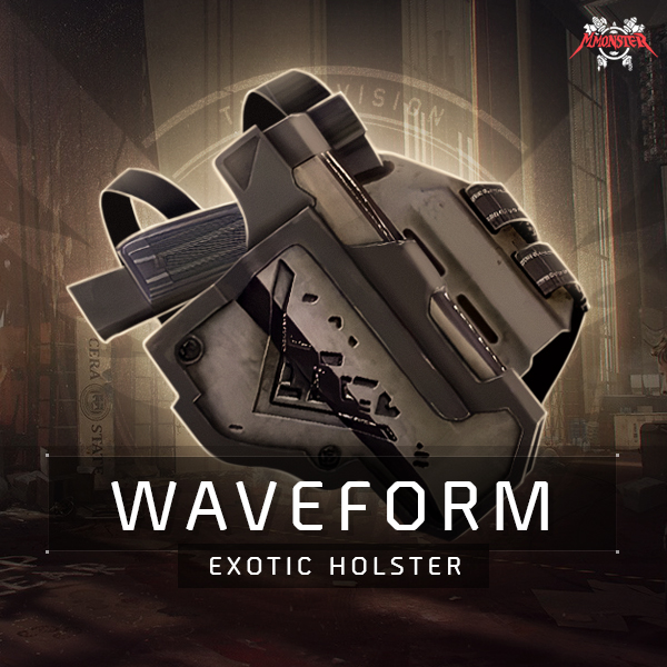 Waveform Exotic Holster Farm Boost