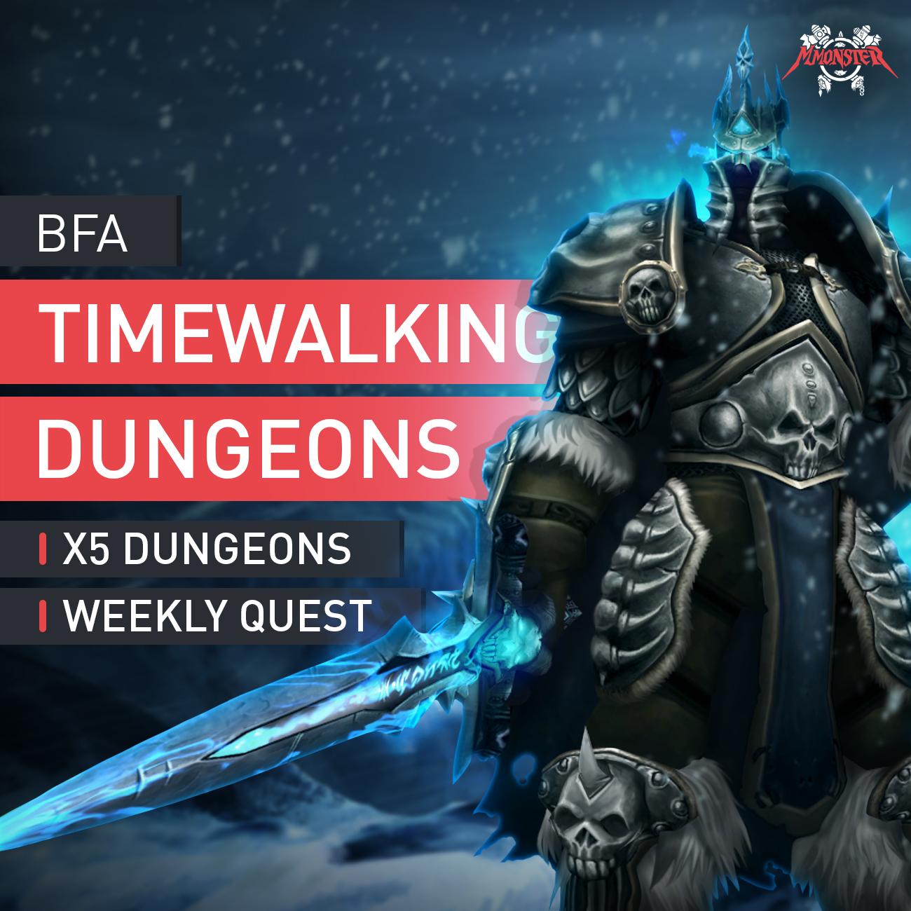 Timewalking Dungeons Run