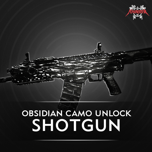 CoD MW Shotgun Obsidian Camo Unlock Boost