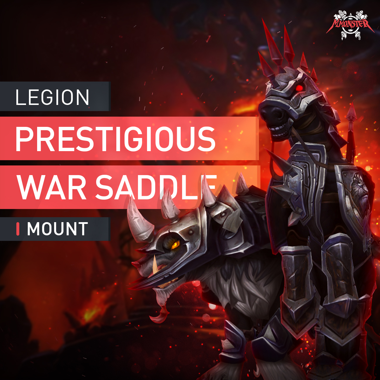 Prestigious War Mount