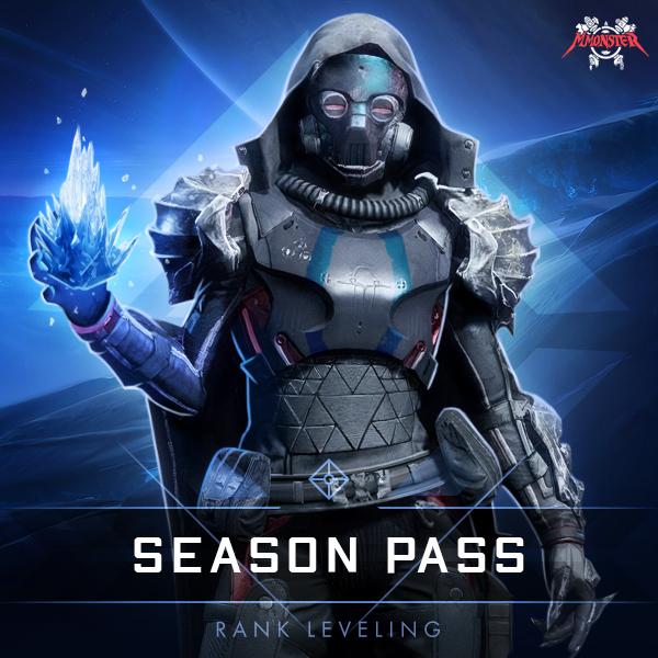 Destiny 2 Season Pass Rank Leveling Boost
