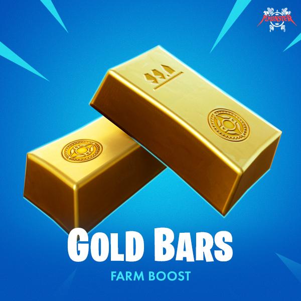 Fortnite Gold Bars Farm Boost