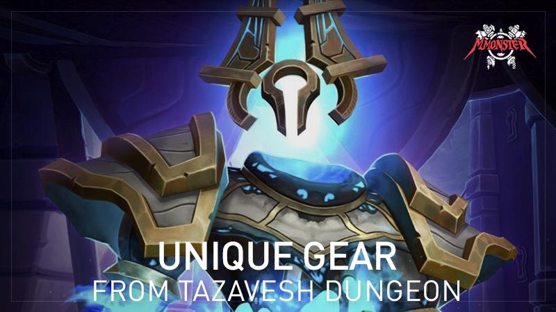 Tazavesh Megadungeon gear shadowlands