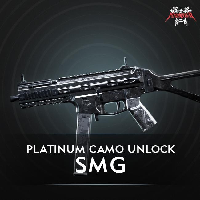 CoD MW SMGs Platinum Camo Unlock Boost