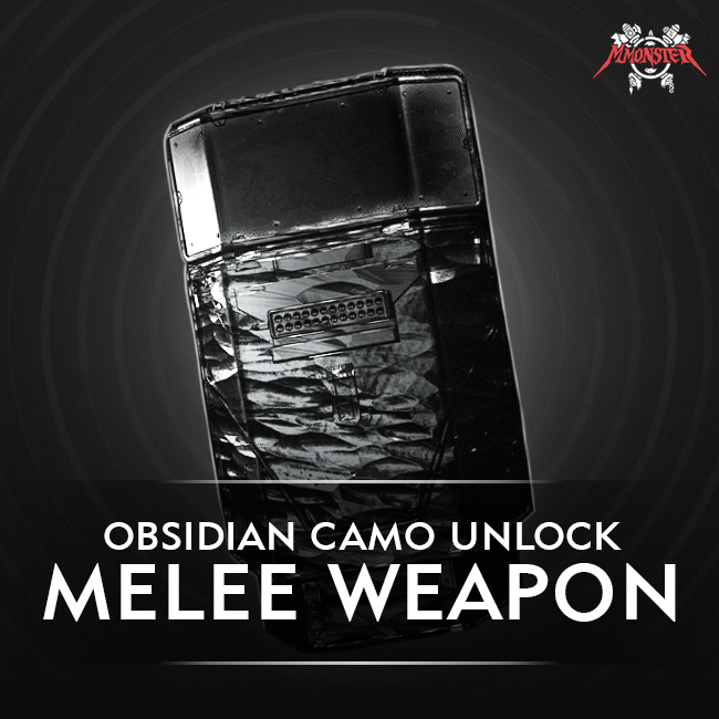 CoD MW Meele Weapon Obsidian Camo Unlock Boost