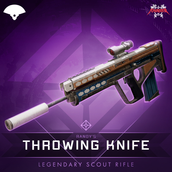 RANDY'S THROWING KNIFE Legendary Scout Rifle