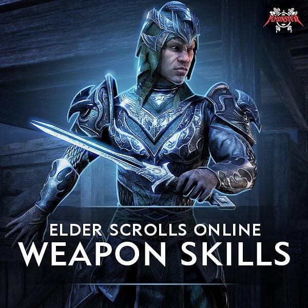ESO Weapon Skill Lines Power Leveling