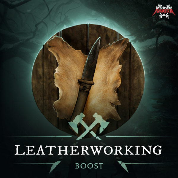 New World Leatherworking Power Leveling Crafting Skill Profession Boost