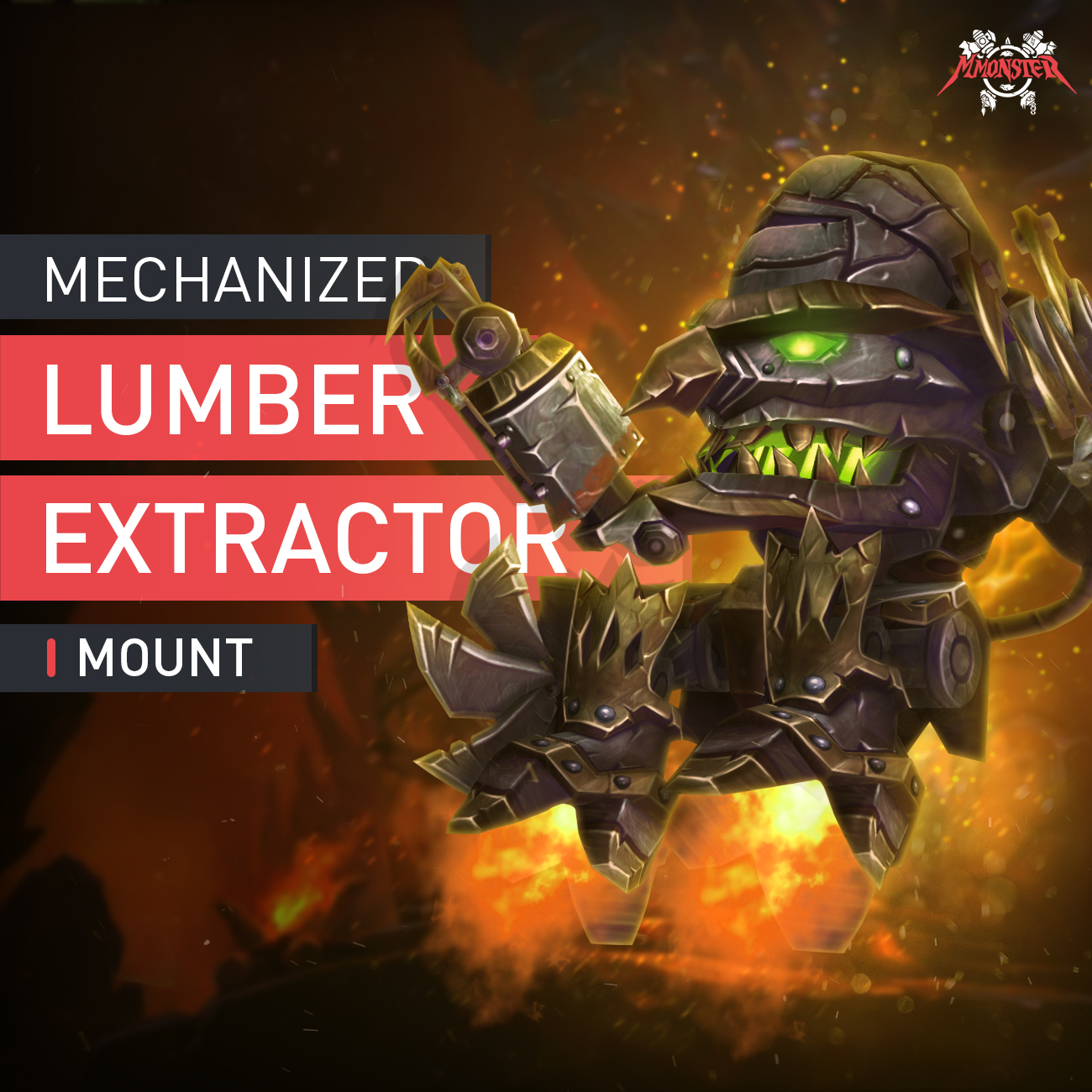 Mechanized Lumber Extractor