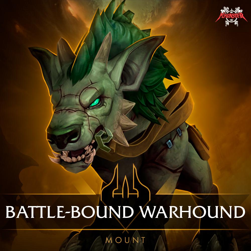 Battle-Bound Warhound Mount Farm Boost