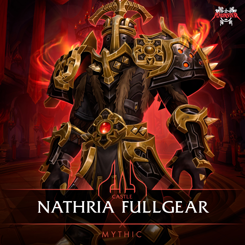 Castle Nathria Mythic Full Gear Boost