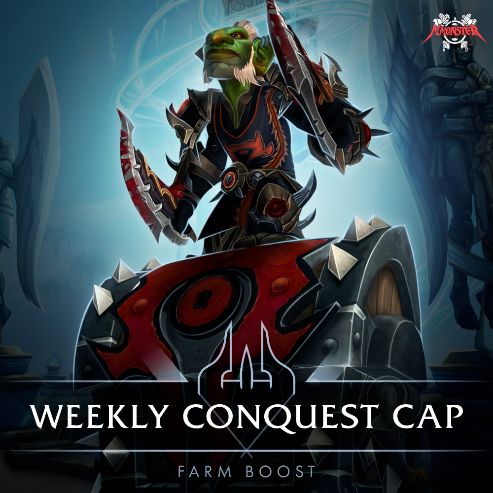 Conquest Weekly Cap Boost