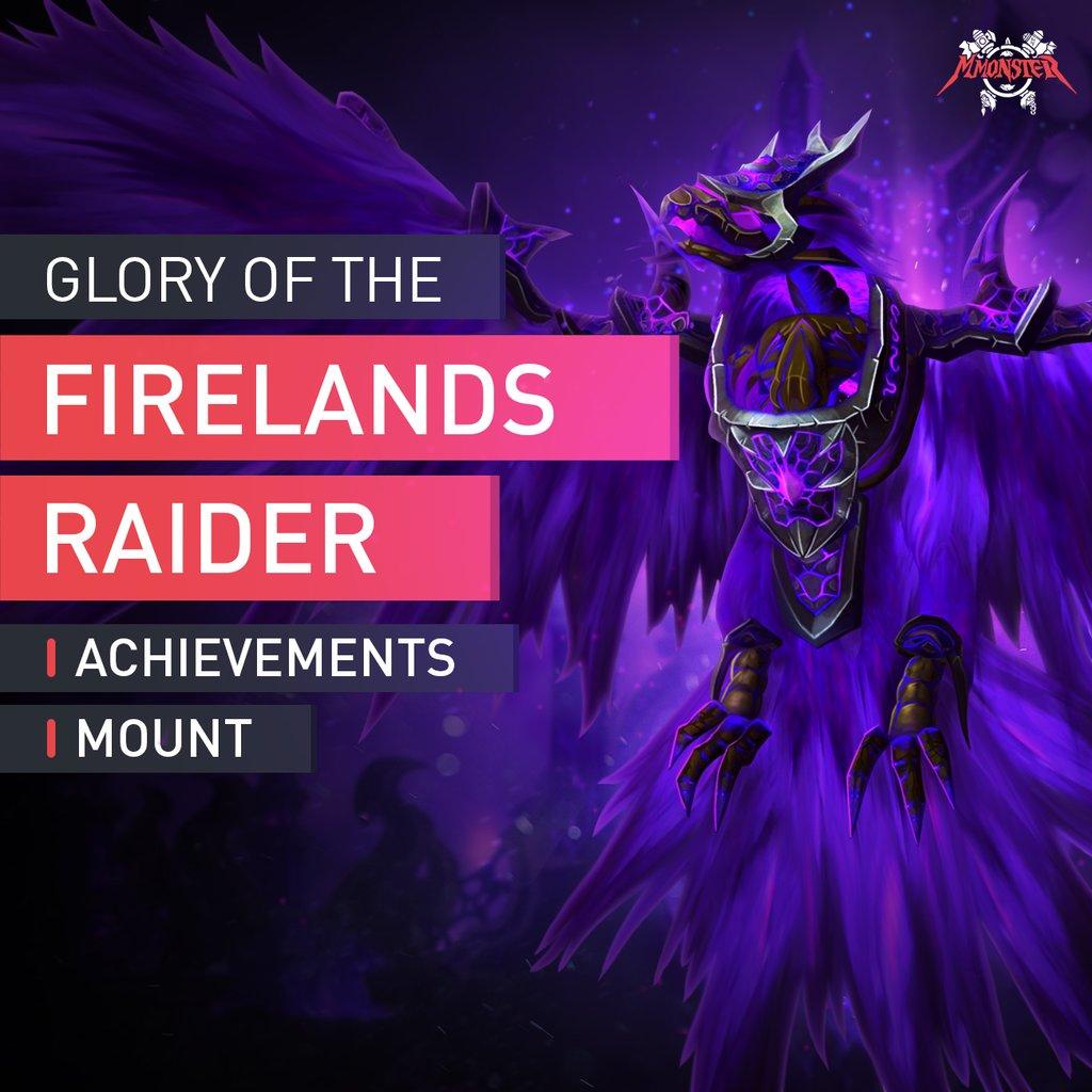 Glory of the Firelands Raider