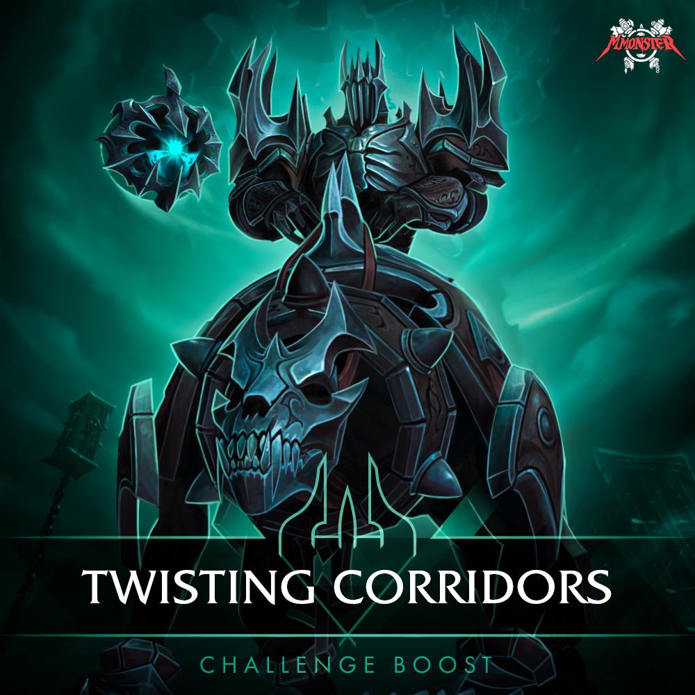 twisting corridors challenge boost