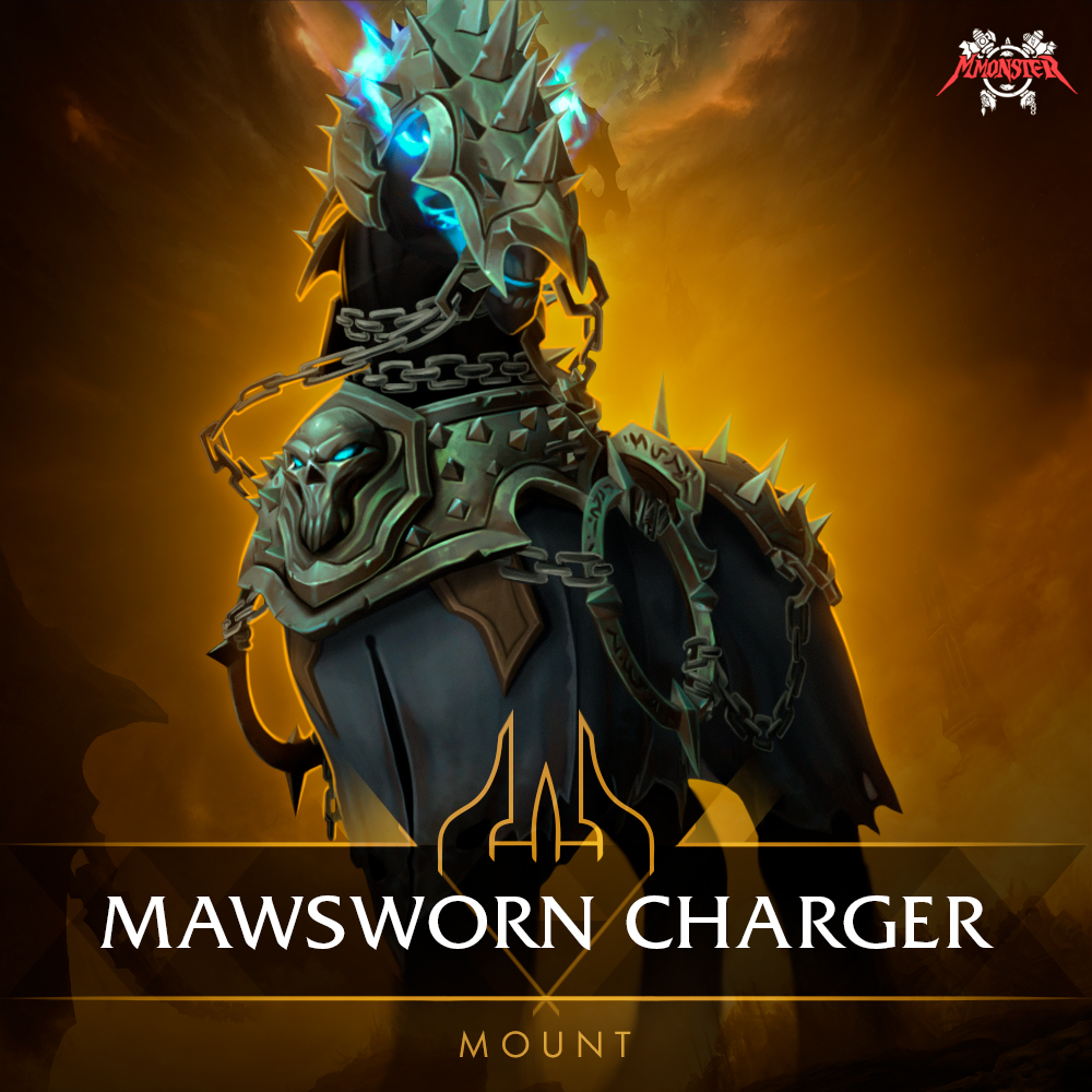 Mawsworn Charger Mount - Flawless Master Achievement Boost [id:84318]