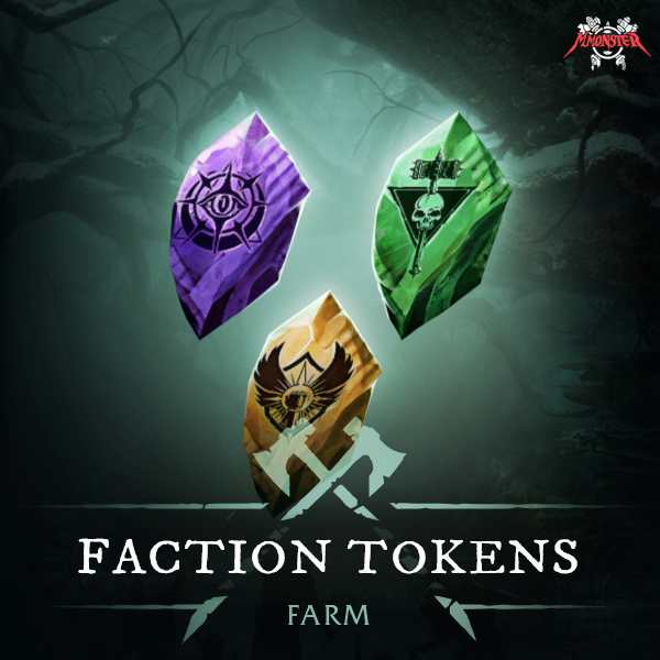 New World Faction Tokens Farm Boost