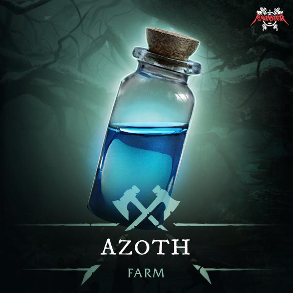 New World Azoth Farm Boost Carry
