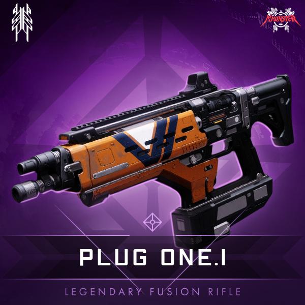 Plug One.1 Legendary Fusion Rifle.