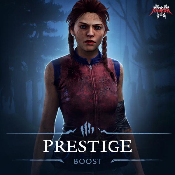 Dead by Daylight Prestige Level Boost
