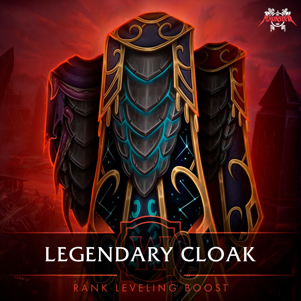 Legendary Cloak Rank Leveling Boost