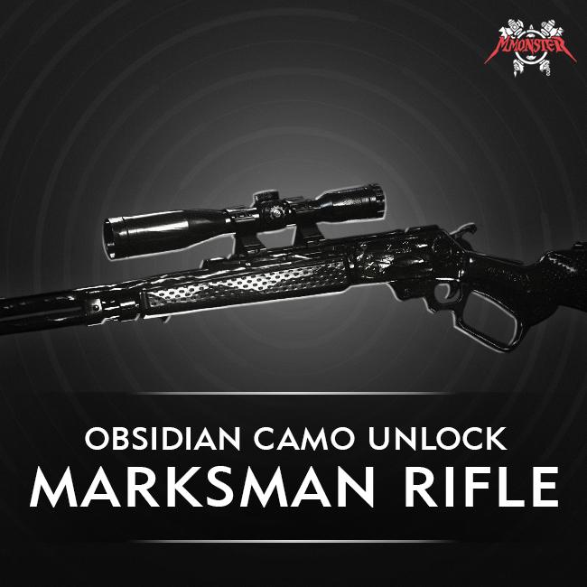 CoD MW Marksman Rifle Obsidian Camo Unlock Boost