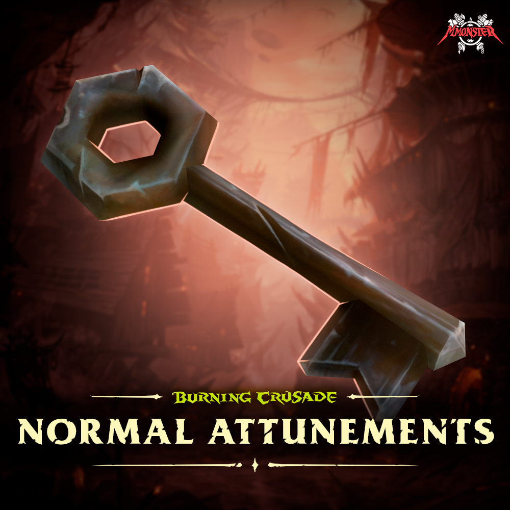 WoW Burning Crusade Classic Normal Dungeon Attunements