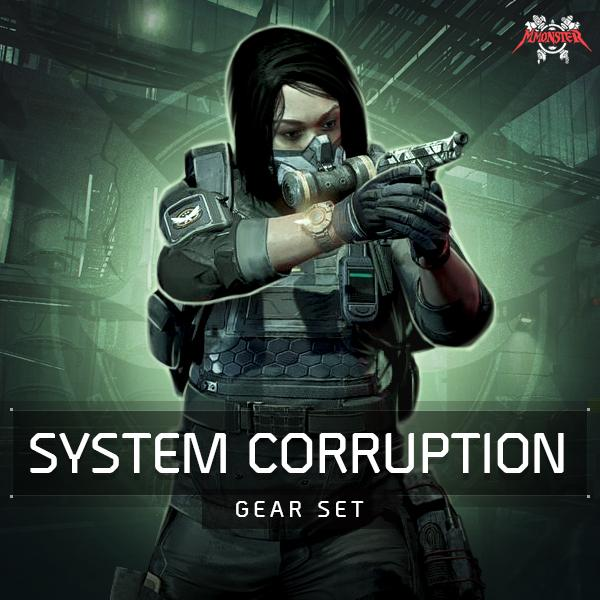 System Corruption Gear Set Farm Boost