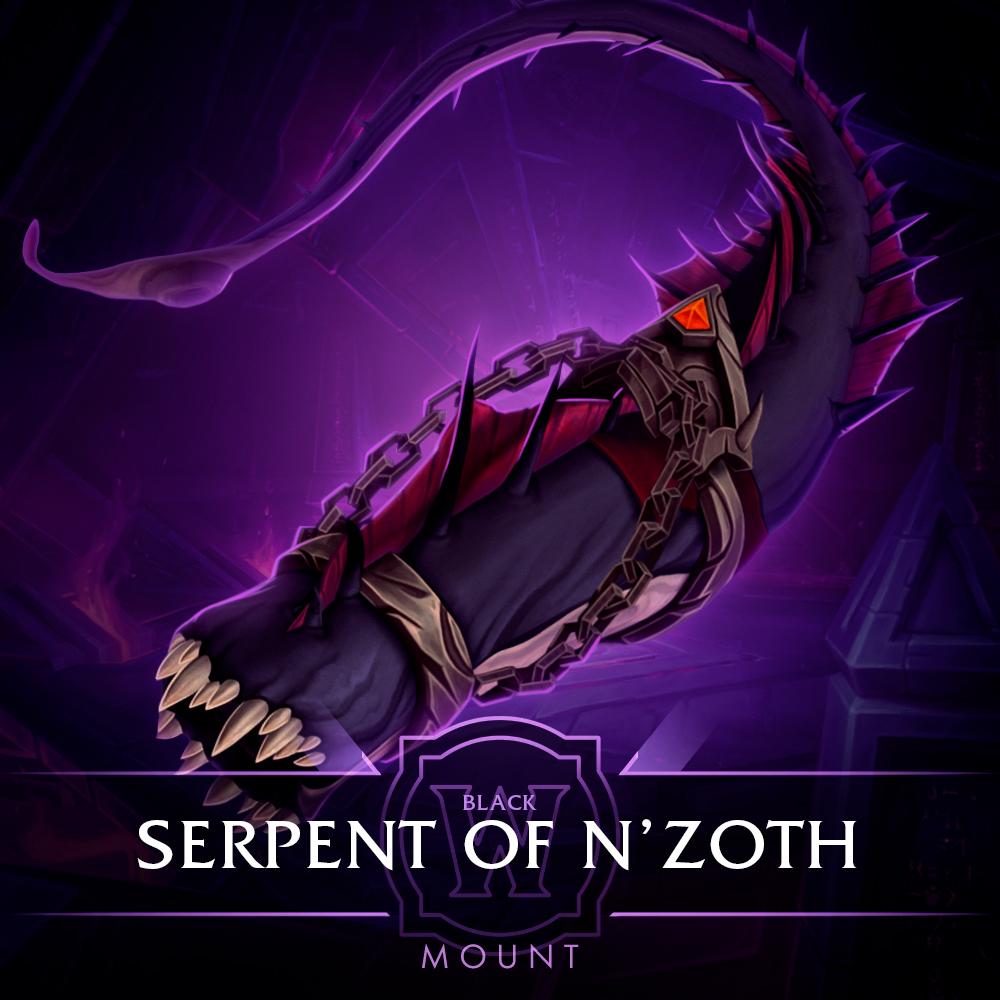 Black Serpent of N'Zoth Mount