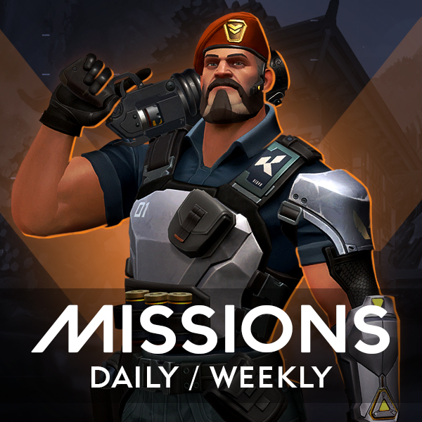 Valorant Daily and Weekly missions