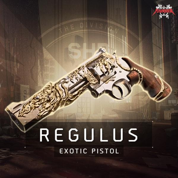 Regulus Exotic Pistol Weapon Farm Boost