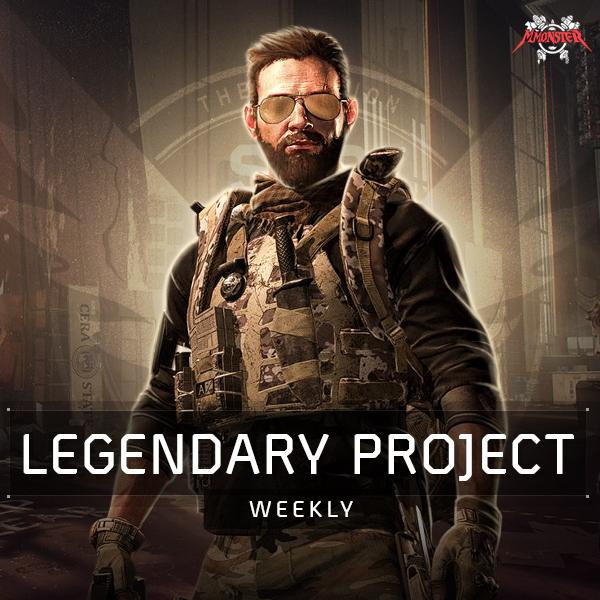 Weekly Legendary Mission Project Boost