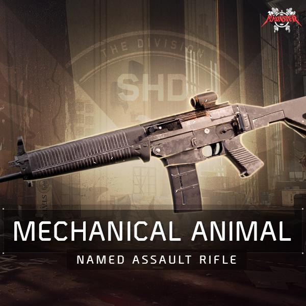 Mechanical Animal Named Assault Rifle Farm Boost