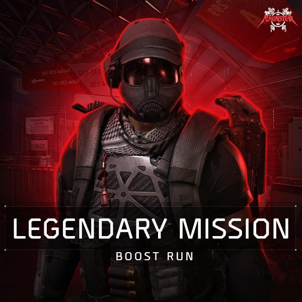 Legendary Mission Boost Run