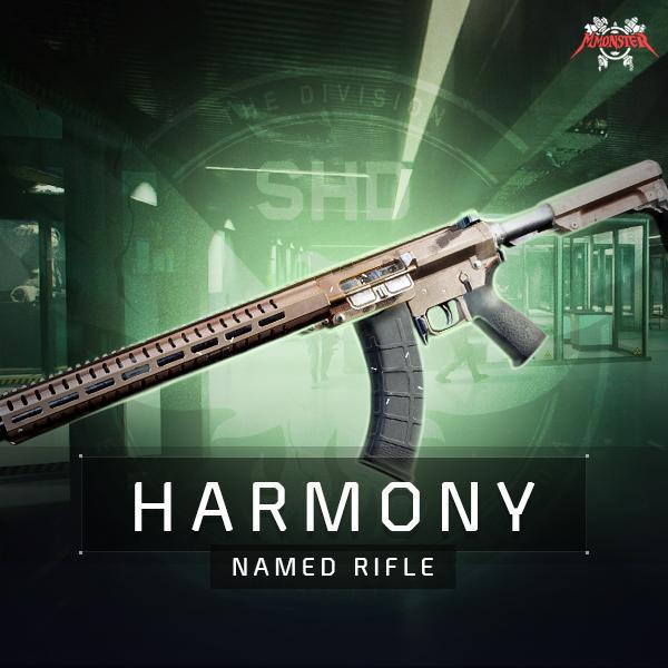 Harmony Named Rifle Farm Boost